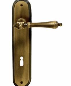 Deurklink brons BG7