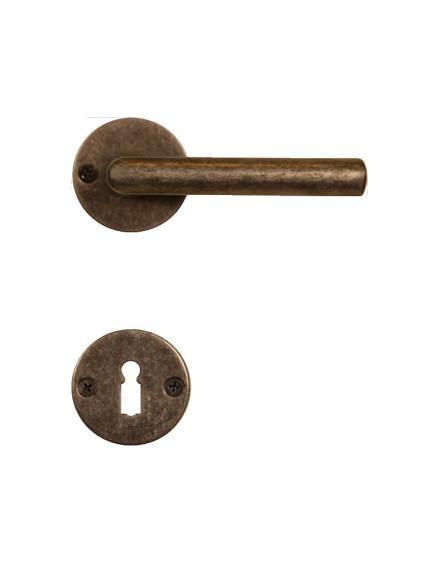 Deurklink oud-zilver OZ1680