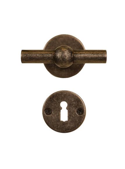 Deurklink oud-zilver OZ1750