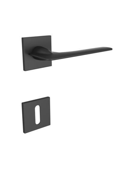 Deurklink zwart Z206